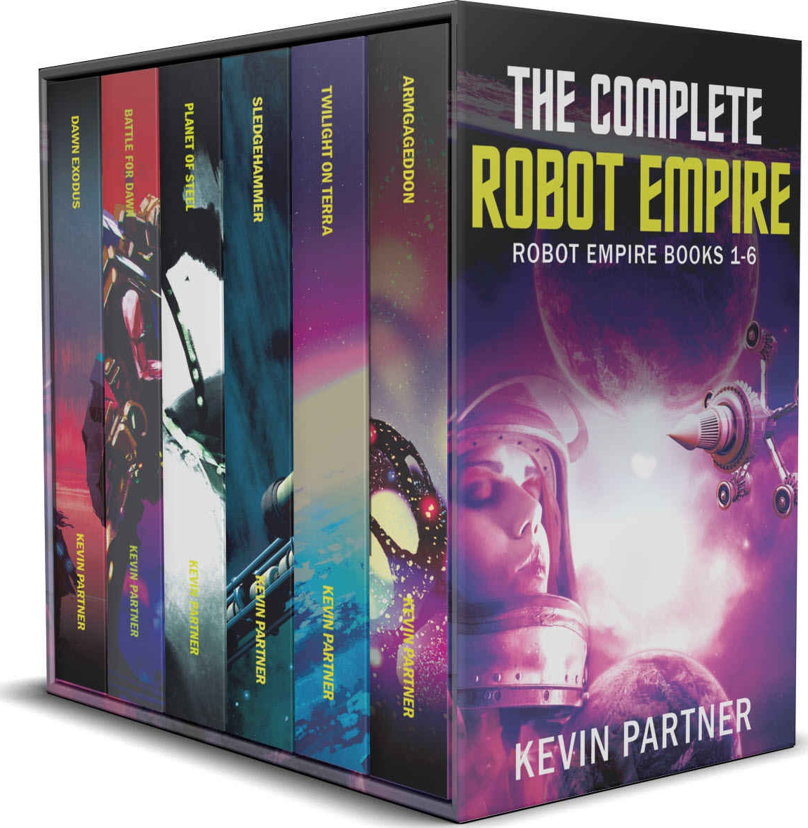 The Complete Robot Empire: A Galactic Space Opera Adventure in the Classic Tradition