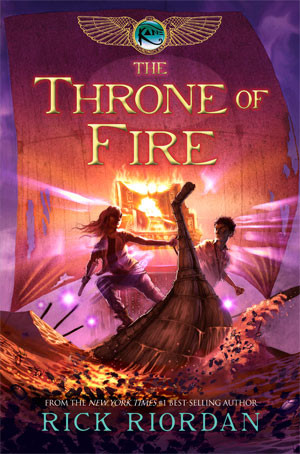 Rick Riordan - The Throne of Fire