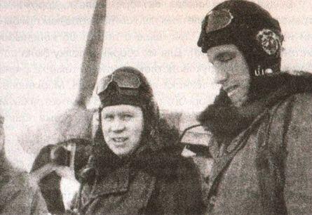 В воздушных боях. Балтийское небо