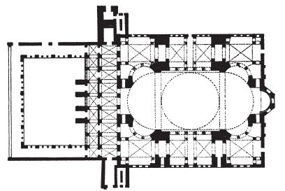 Храм святой софии схема