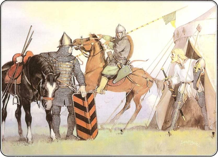 Русская армия 1250 1500 гг