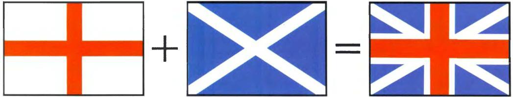 флаг белый с красным крестом