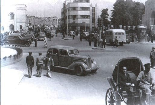 Тегеран во второй половине 30 х годов