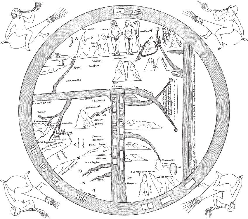 История географических карт