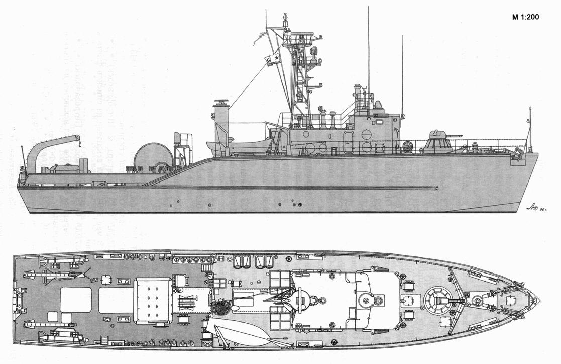 Десантные и минно-тральные корабли. Часть 2