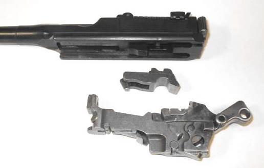 Mauser C-96. Разборка-сборка
