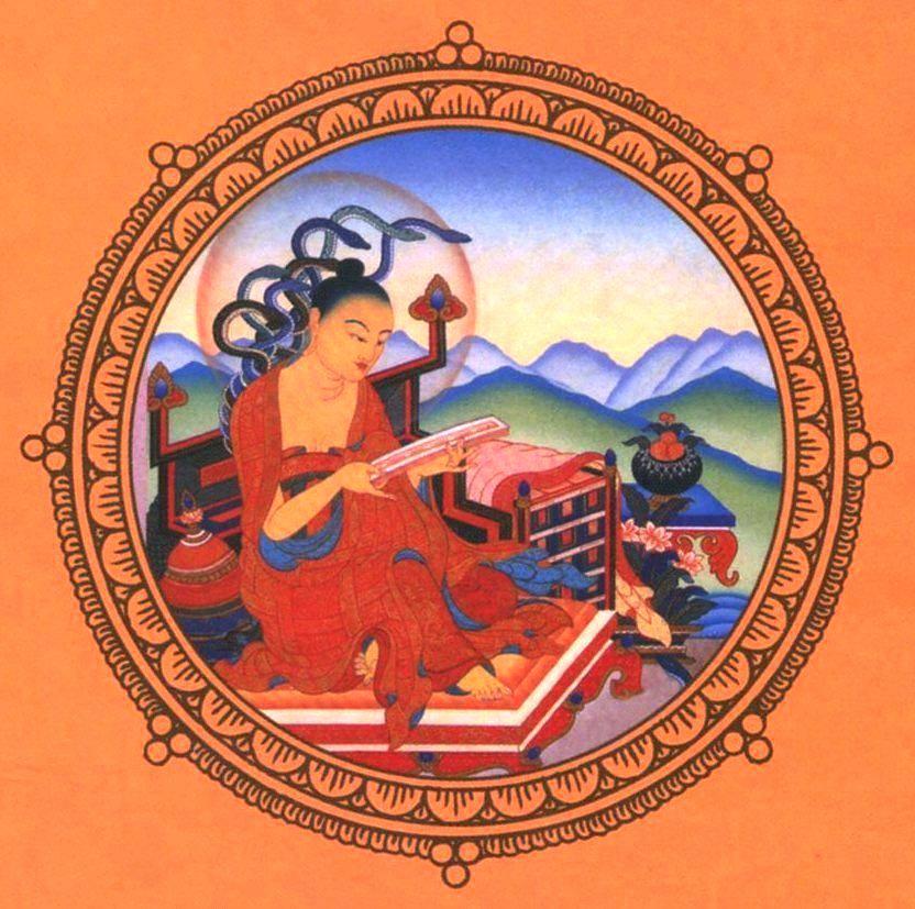 Арья Нагарджуна о путях и ступенях Гухьясамаджи