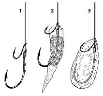 крючок для ловли на ракушку