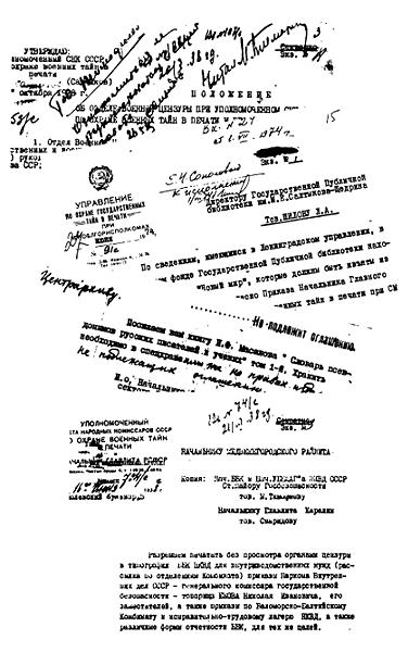 Как это делалось в Ленинграде. Цензура в годы оттепели, застоя и перестройки
