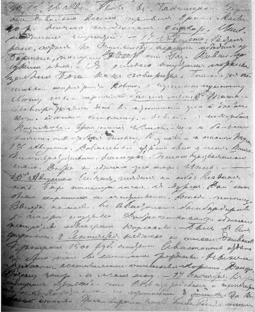 Дневник, 1855 г.