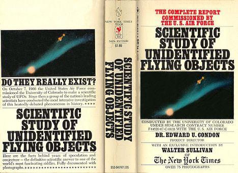 Кондонский отчёт: Научное исследование неопознанных летающих объектов