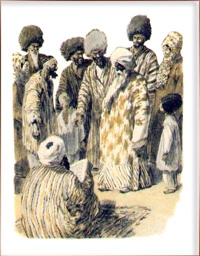 Туркменские сказки об ярты гулоке