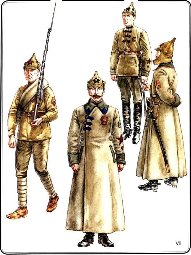 Крестьянская красная армия 1920—1922 гг