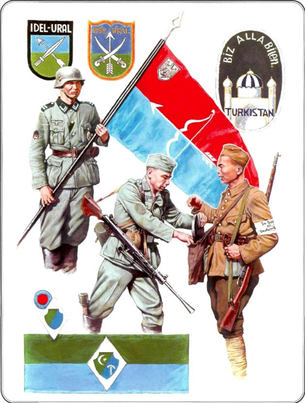 Восточные легионы и казачьи части в Вермахте