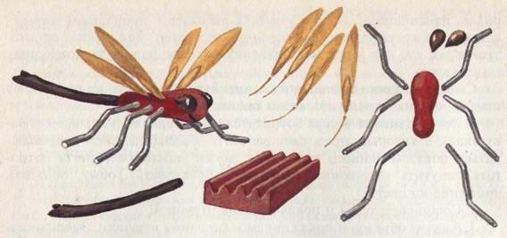 Поделки из листьев - Вауу! - мастер класс: детские поделки из природного ма