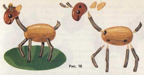 Поделки из природного материала своими руками для детей 16