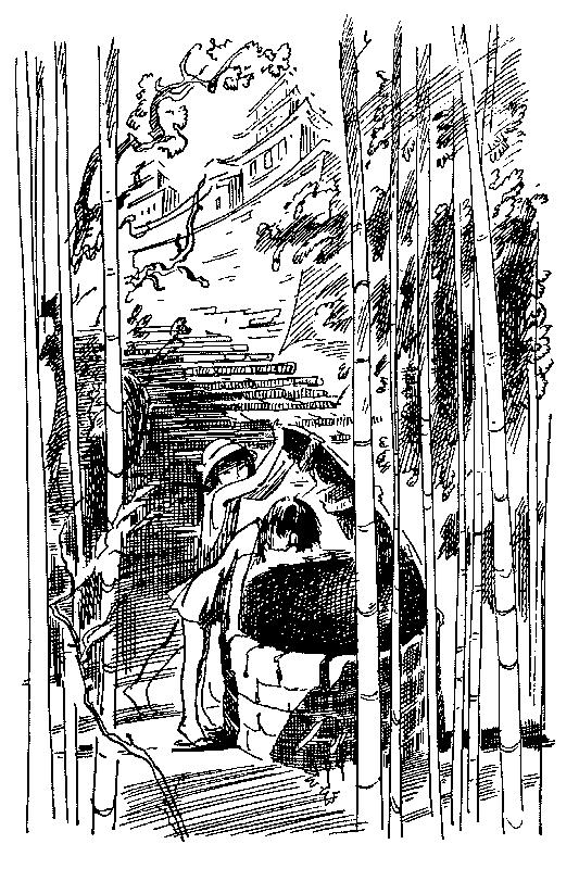 Тотто-тян, маленькая девочка у окна