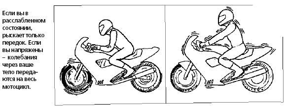 Техника вождения мотоцикла