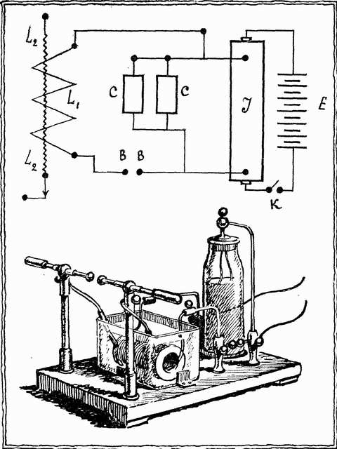 Можно схемы интепритировать по схеме резонанса напряжения или тока.  Когда при включении двигателя при 10мкф или...