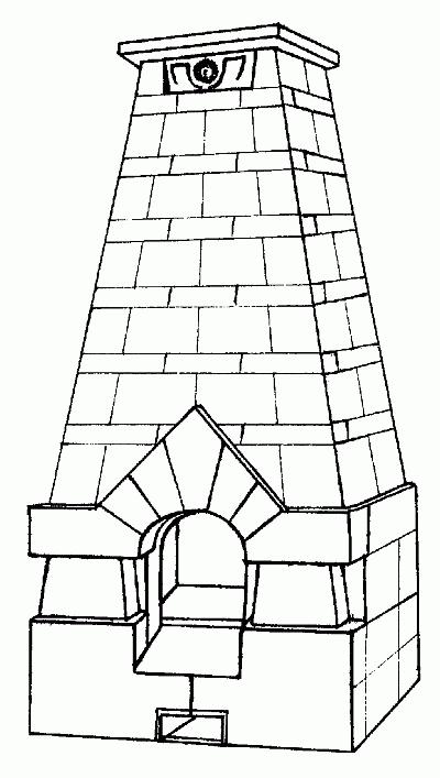 схема построение декоративного