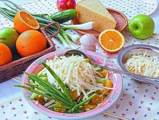 21 Май, 2011.  Салаты. закуски.  Категория. салат. приготовление салата.